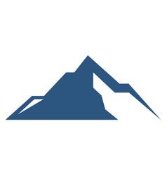 mountain abstract graphic logo icon vector image