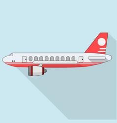 plane icon vector image