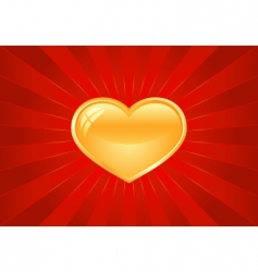 artistic Valentine's background vector image