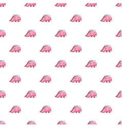 childrens slide elephant pattern vector image vector image