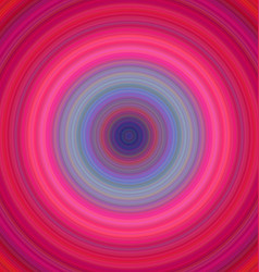 Colorful concentric circle background vector image vector image
