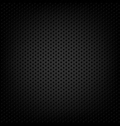 carbon metallic background vector image vector image