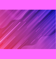 abstract modern colorful blue pink gradient wave vector image
