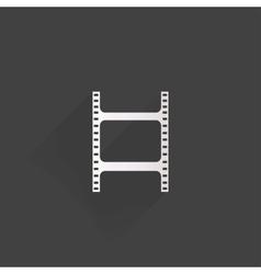 Film web icon vector