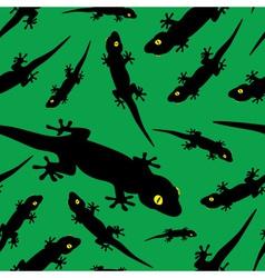 gecko pattern eps10 vector image