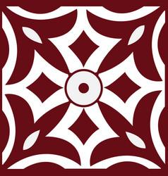 Mural decorative geometric seamless pattern vector