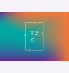 Neon gradient ui ux background trendy web color vector