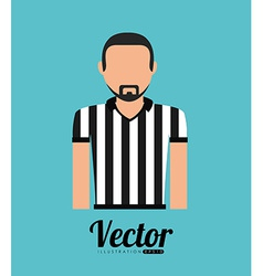 Referee shirt vector