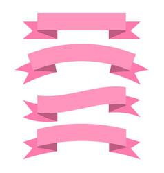 Ribbon baner icon vector