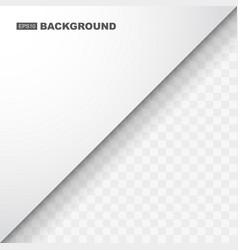 simple abstract white background template vector image