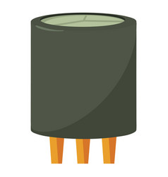 Triode icon cartoon style vector