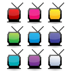 TV sets vector image