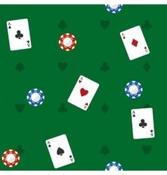 Casino Seamless Pattern vector image vector image