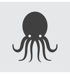 Octopus icon vector image