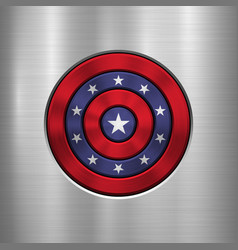 4th of july independence day badge vector