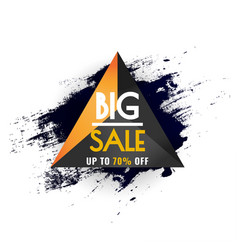 abstract big sale poster sale banner template vector image