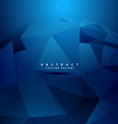 Abstract geometrical 3d shapes background vector
