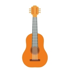 Guitar instrument music sound icon graphic vector