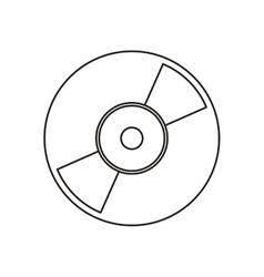 Isolated vinyl device design vector