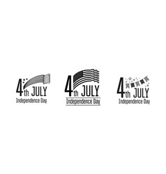 July 4 - independence day usa vector