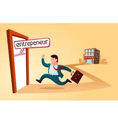 Start my own business vector
