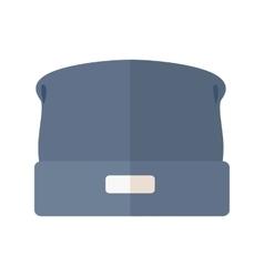 Woolen Winter Hat vector image