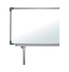A whiteboard is placed vector