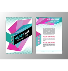 Abstract Background Business Corporate Brochure vector