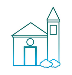 church icon image vector image vector image