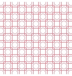 circles squares wallpaper background design vector image