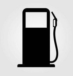 gas station icon isolated on white background vector image