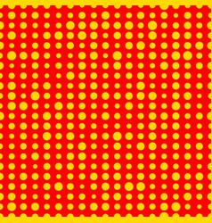 Popart 1950 1960 retro random polka dots circles vector