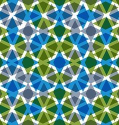 Symmetric transparent extraordinary geometric vector image