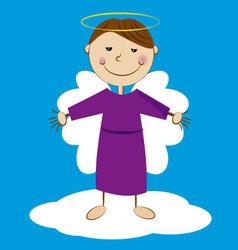 angel 1 vector image