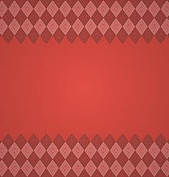 vintage seamless border background vector image