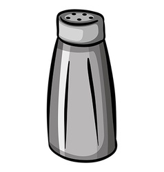 A salt container vector