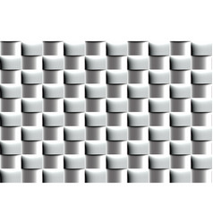 Abstract metal seamless pattern of polished vector