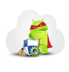 Android-cartoon vector
