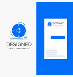 business logo for clinical digital health vector image