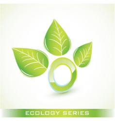 ecology image vector image