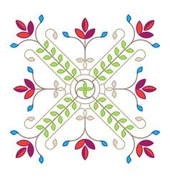 Elegance Floral design element for pattern vector image