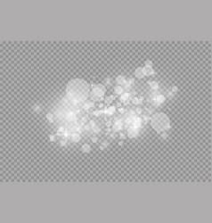 Glow light effect christmas vector