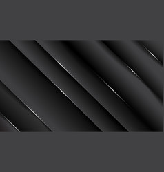 minimal geometric abstract black backgroundpaper vector image