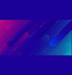 modern gradient geometric background vector image