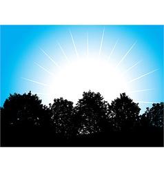 White sun vector