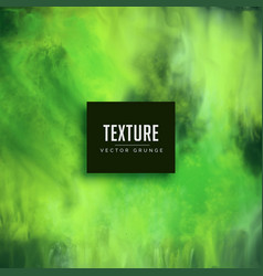 Abstract green watercolor background texture vector