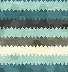 vintage zigzag seamless pattern vector image vector image