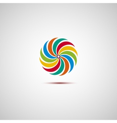 Colorful logo vector image vector image