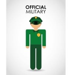 Official military vector