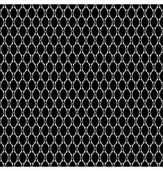 Seamless laced pattern vector image